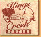 Kings Creek Station - Accommodation Perth